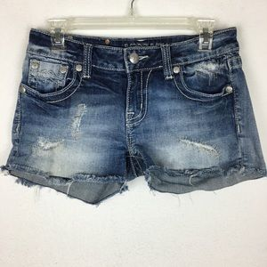 Miss Me Denim Signature Shorts size 28